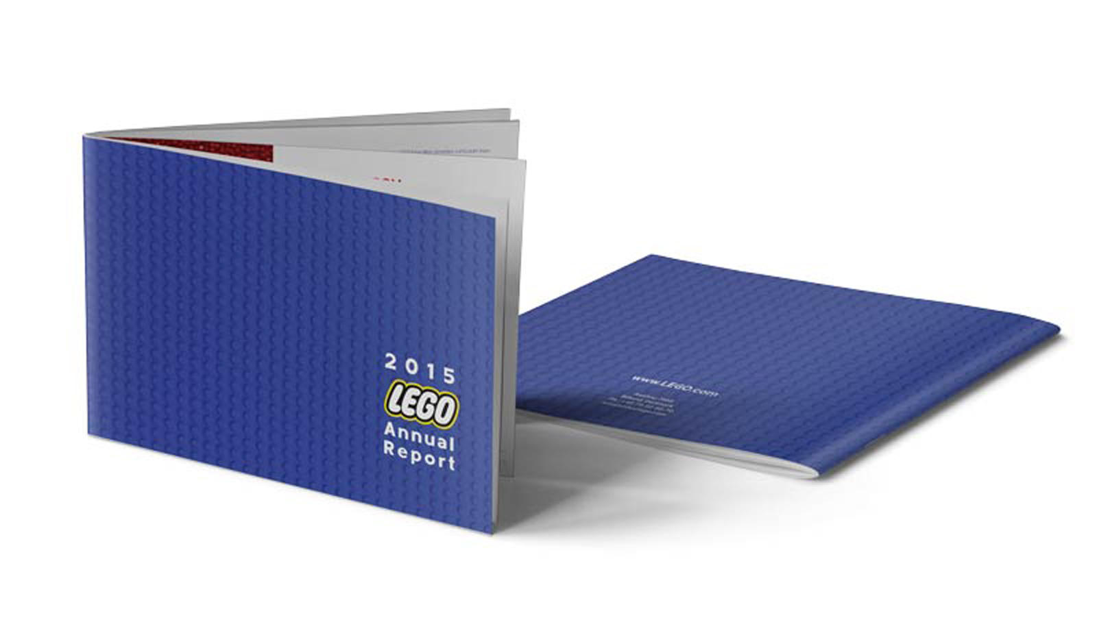Lego Annual Report Covers