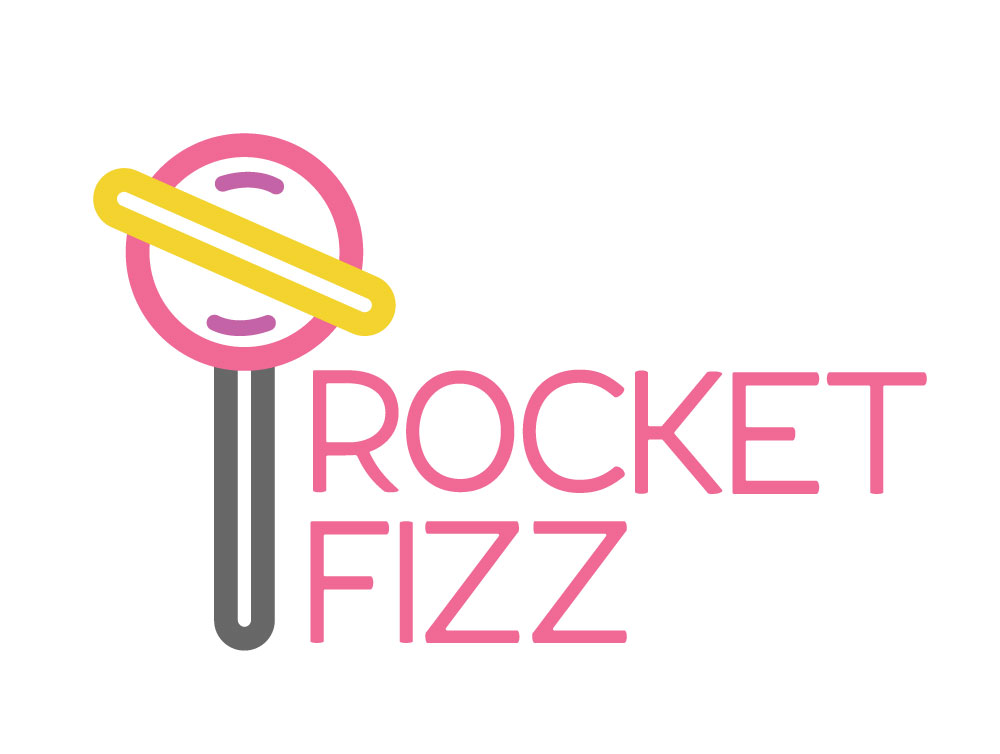 Redesigned Rocket Fizz Logo